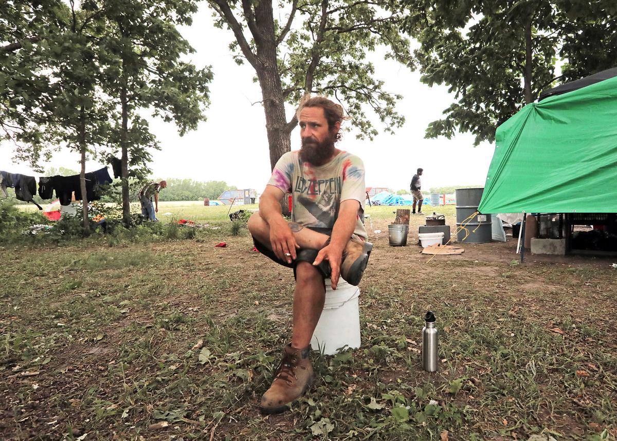 Reindahl homeless - James DeGray