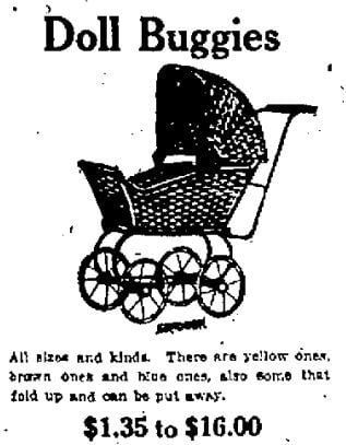 Wisconsin State Journal toy ads: 1920s | | madison com