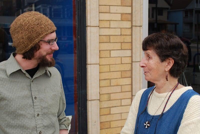 Josh Brollier and Sister Pat Chaffee