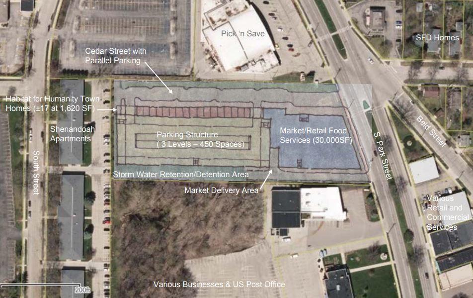 Valeo, Baehr Inc., Habitat for Humanity of Dane Co., and McShane Construction