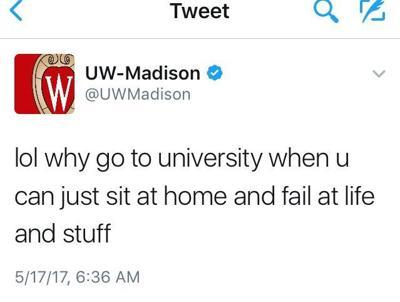 UW-Madison Twitter account hacked