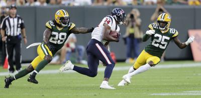 Tony Brown, Will Redmond - Packers vs. Titans