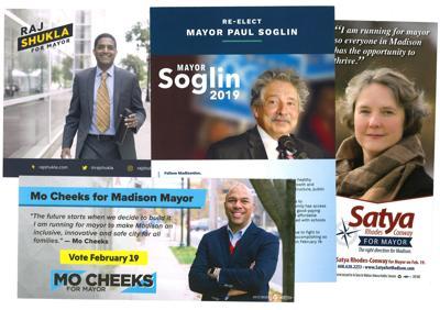 Mayoral candidate literature mashup