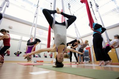 Kula Yoga & Wellness, aerial yoga