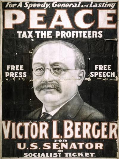 Victor Berger campaign poster