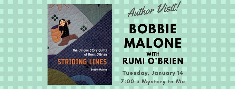 Author Event: Bobbie Malone in conversation with Rumi O'Brien