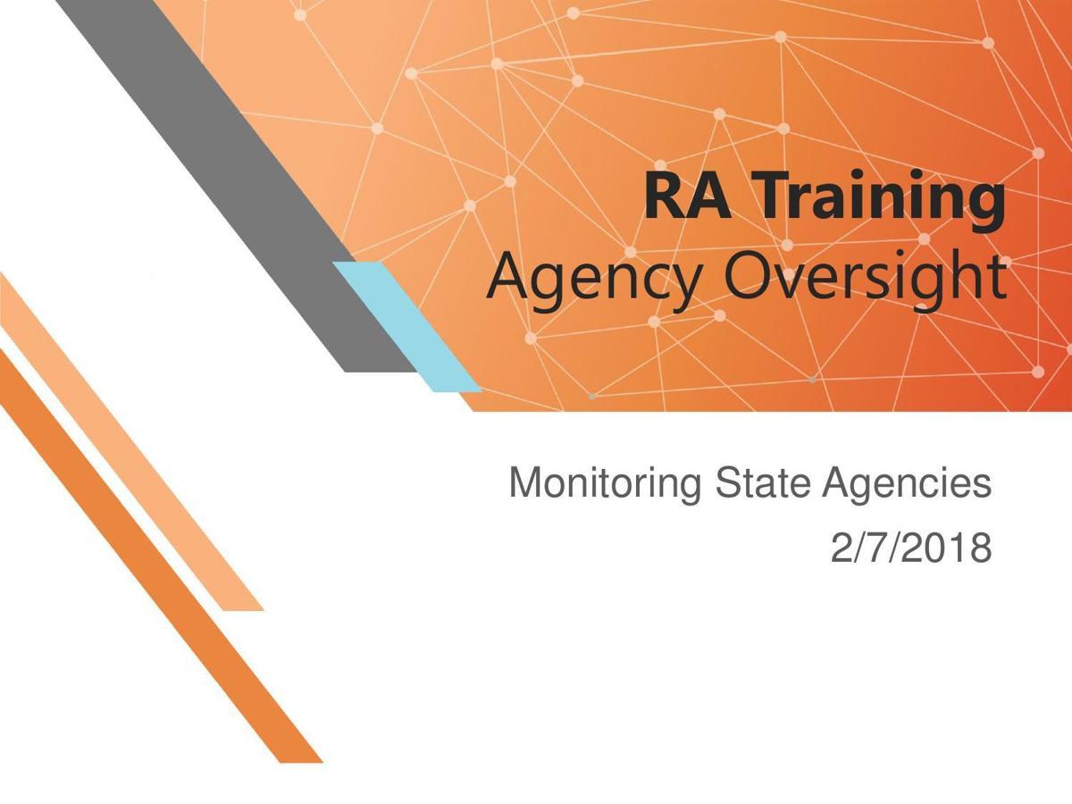 RA Training Presentation