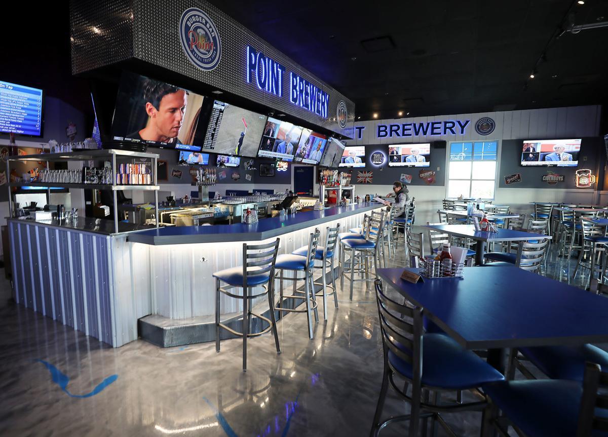 Point Burger Bar interior