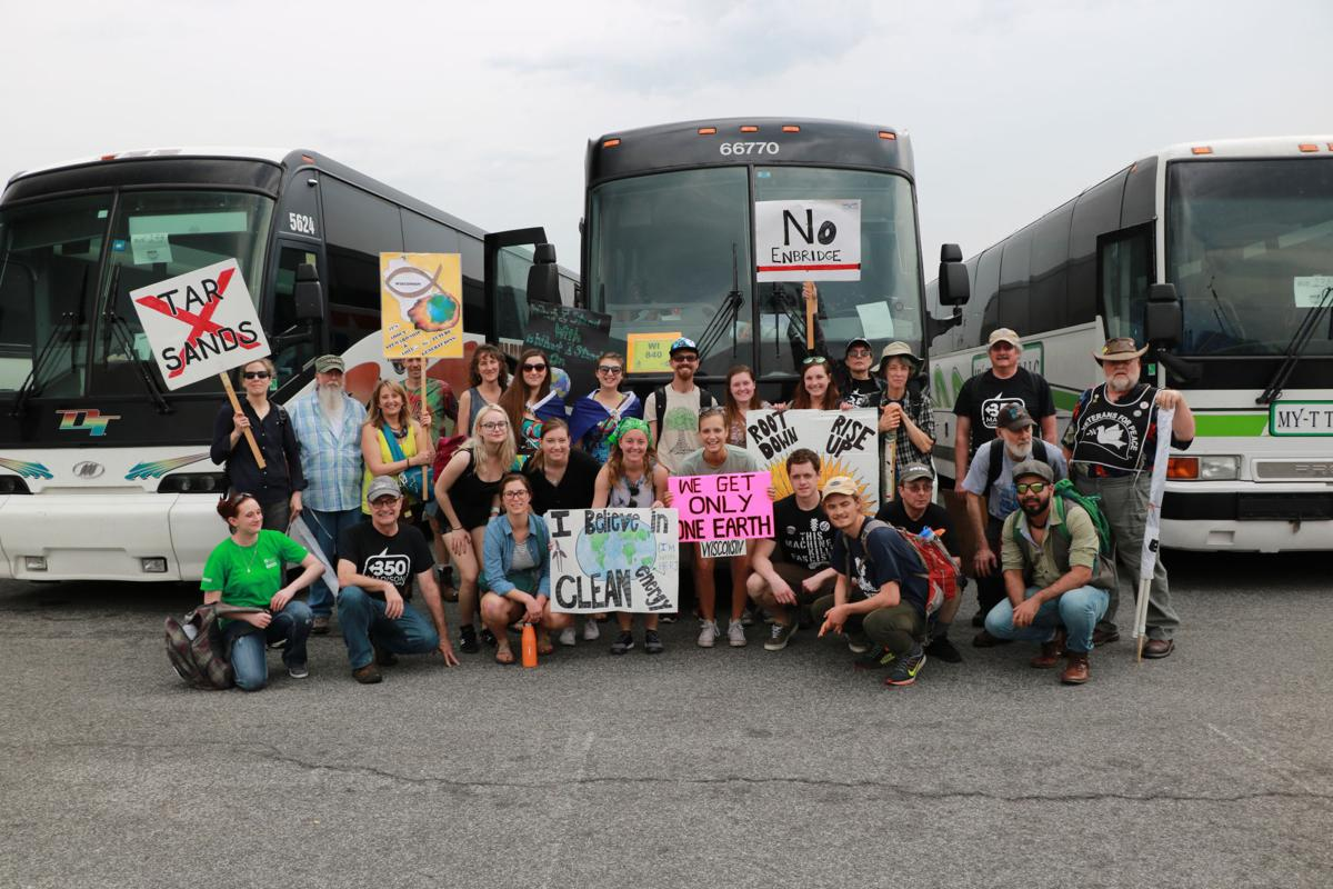 Wisconsin climate marchers