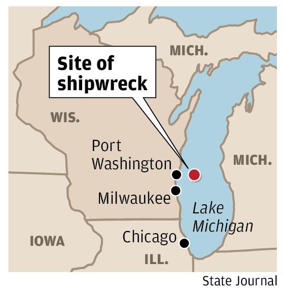 Site of shipwreck