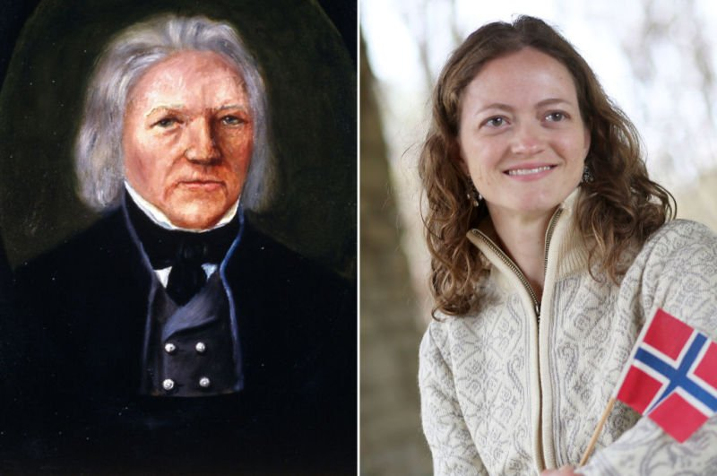 Mashup of Peder Hjermand and Wendy Sorenson