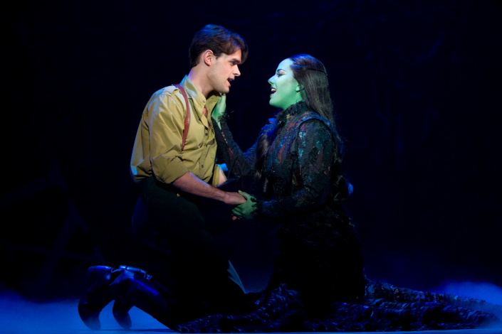'Wicked' Chris Peluso and Vicki Noon