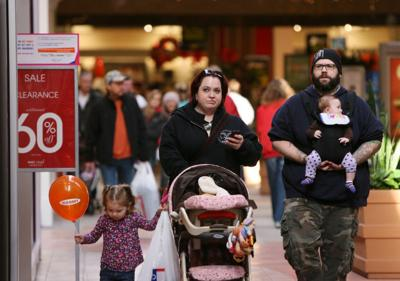 Black Friday sales at East Towne Mall