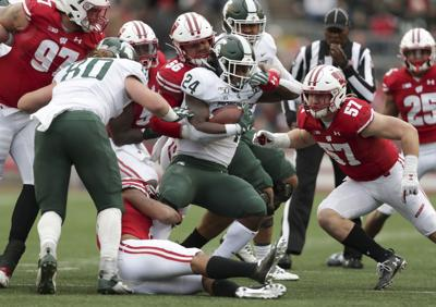 Badgers tackle photo