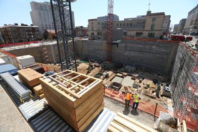 Judge Doyle Square construction