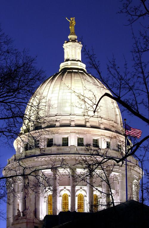 Capitol dome lights
