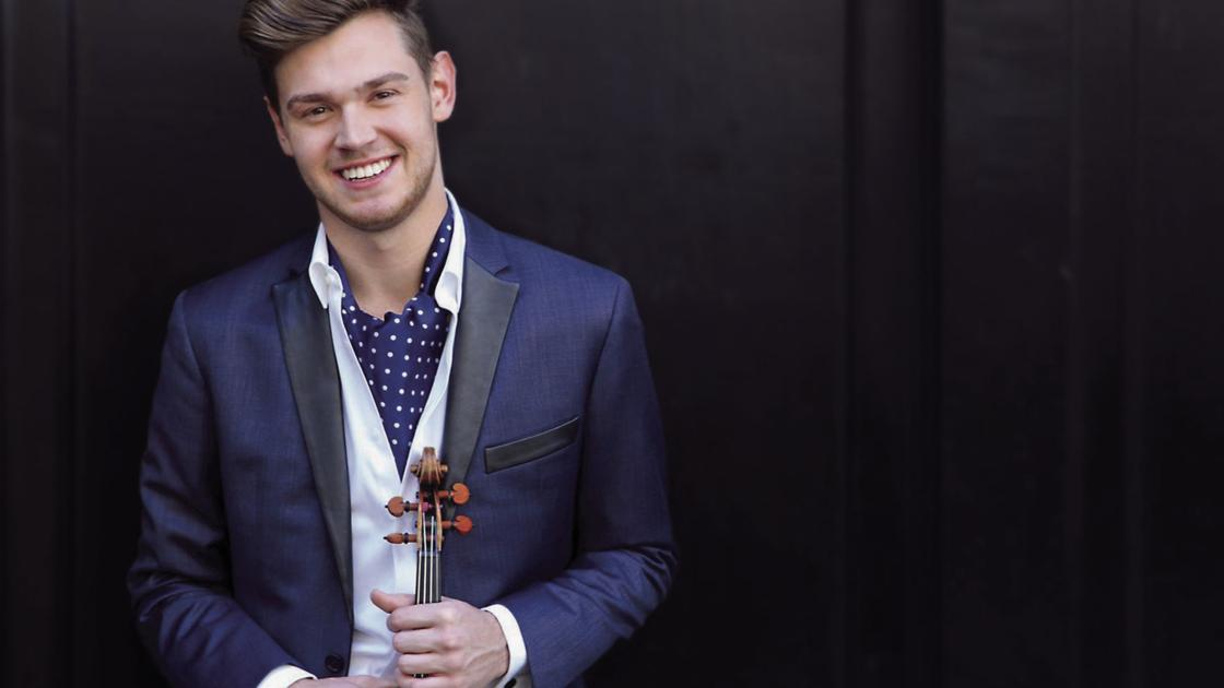 Soloist Blake Pouloit brings MSO audience to its feet with gorgeous Mendelssohn violin concerto