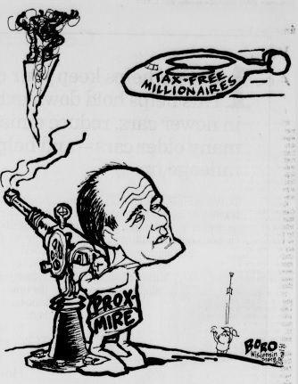 Proxmire editorial cartoon