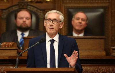 Tony Evers gives budget address