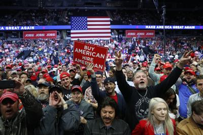 Trump rally in Grand Rapids