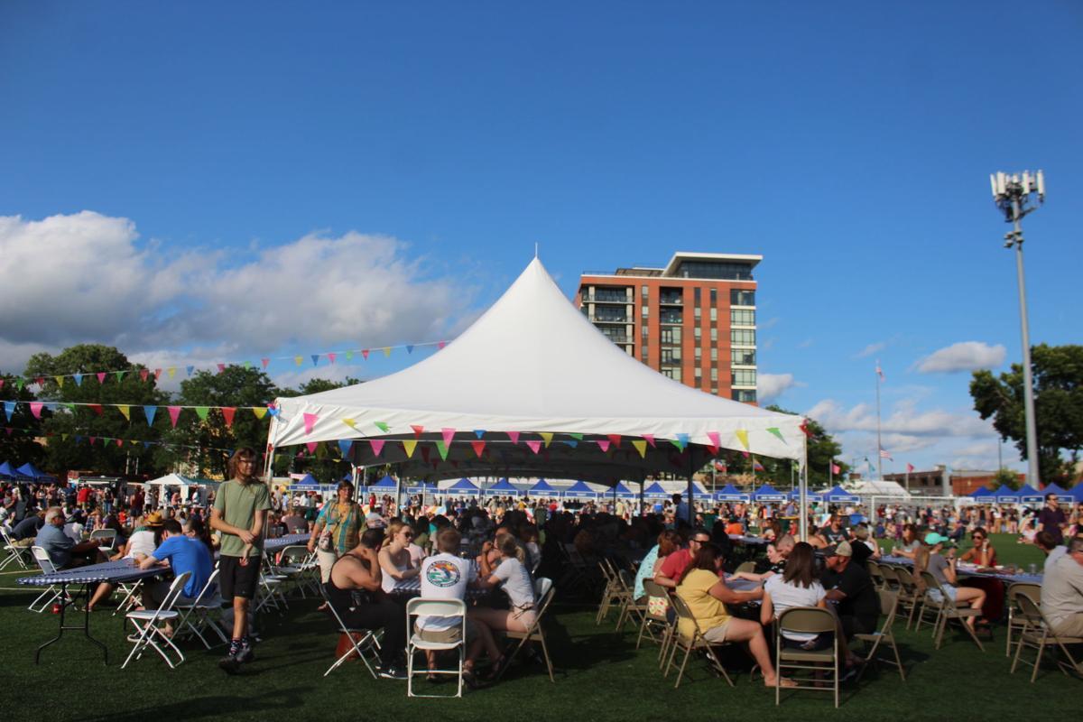 A view of Breese Stevens Field during Madison's sixth annual Yum Yum Fest .JPG