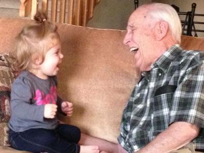 Happy 100th Birthday Grandpa!