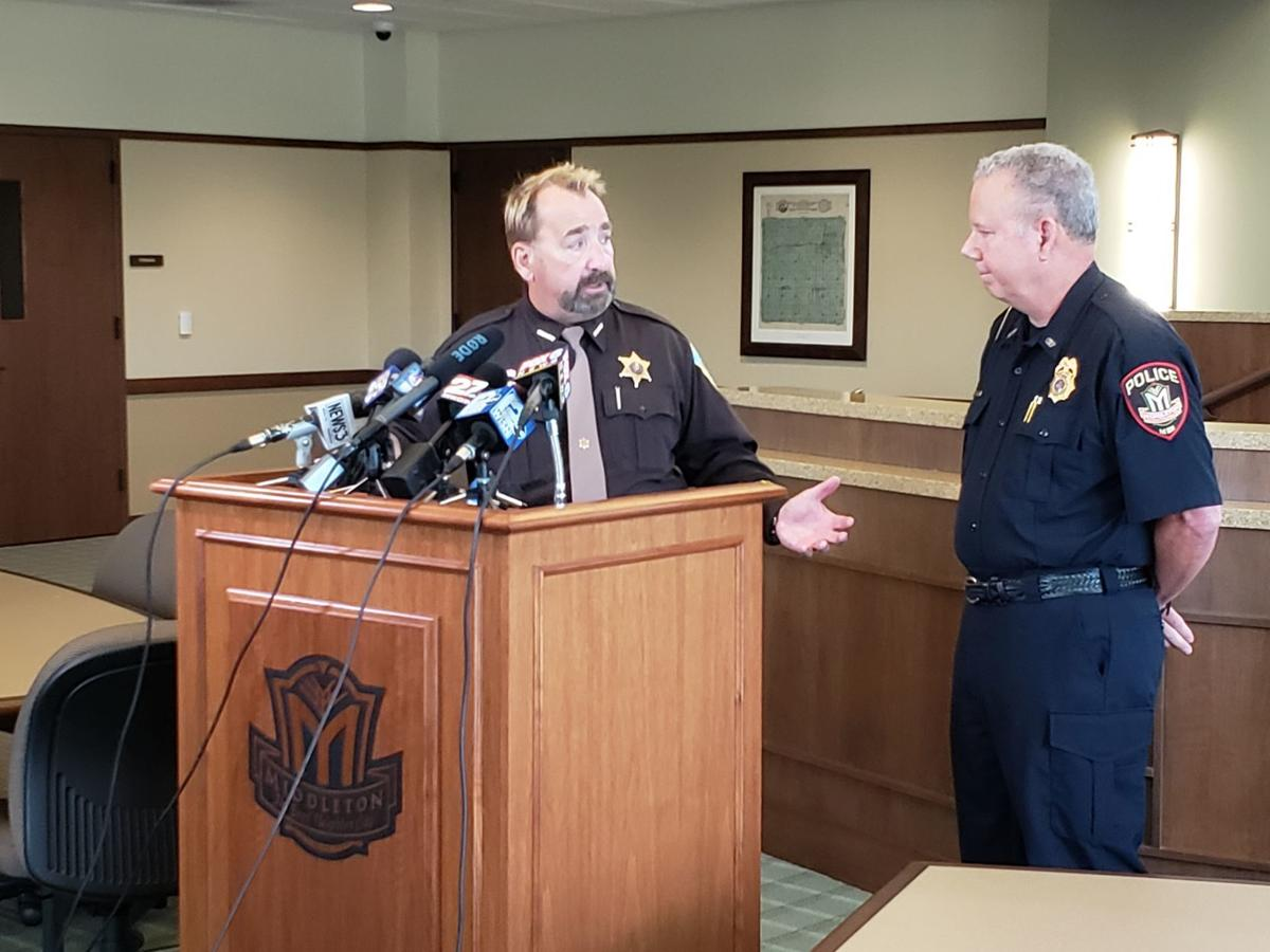 Middleton shooting news conference