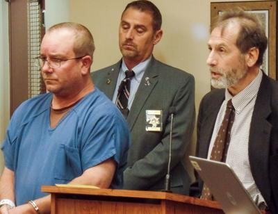 Nicholas Hanley in court