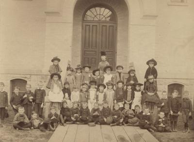 Madison school children, 1888