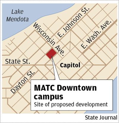 MATC Downtown map