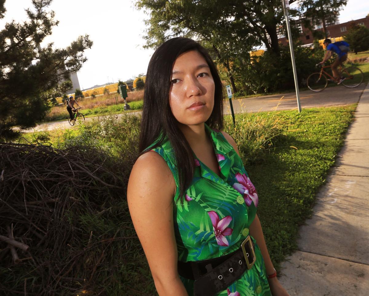 Jenie Gao bike path