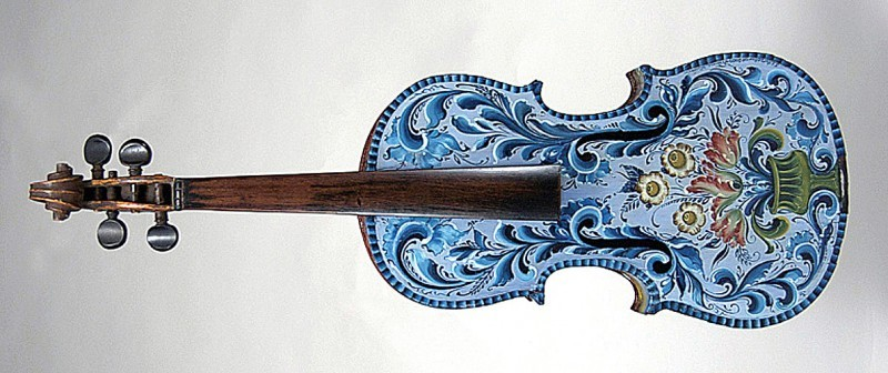 Off the Wall art: \'Violin,\' by Jan Norsetter   Entertainment ...