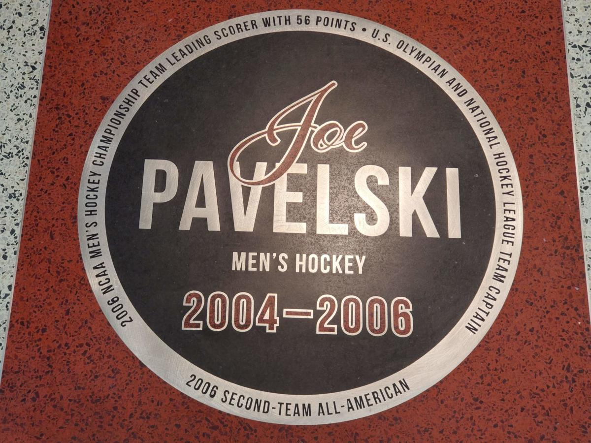 Joe Pavelski Legends Walk