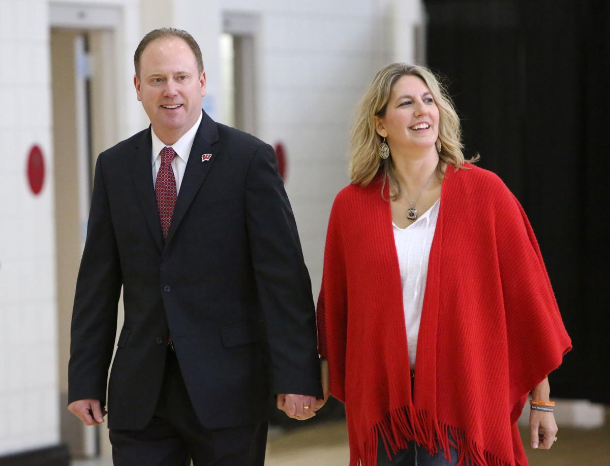 Greg Gard and wife, Michelle