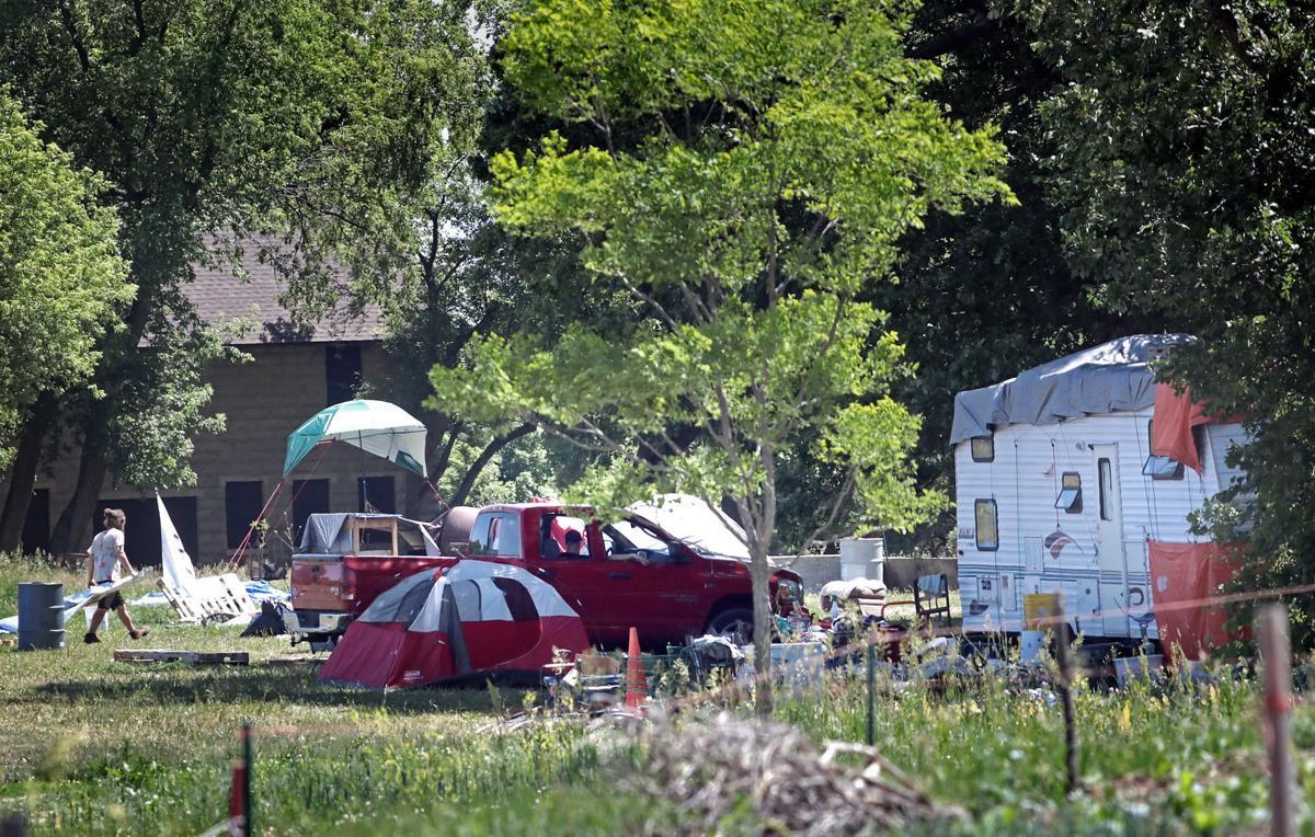 Reindahl homeless encampment
