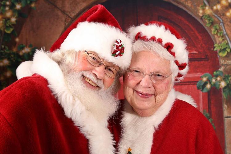 Santa & Mrs. Claus!