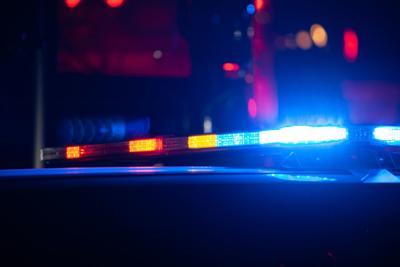 Police lights siren squad car generic file photo