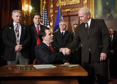 budget repair bill signing 1