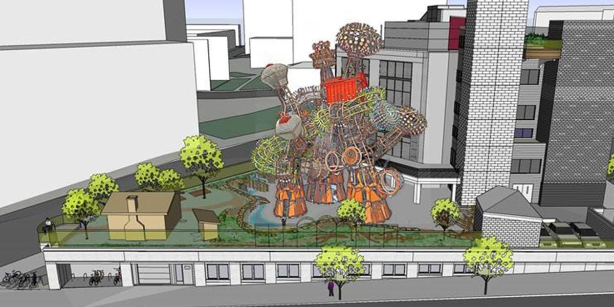 Proposed addition to Madison Children's Museum