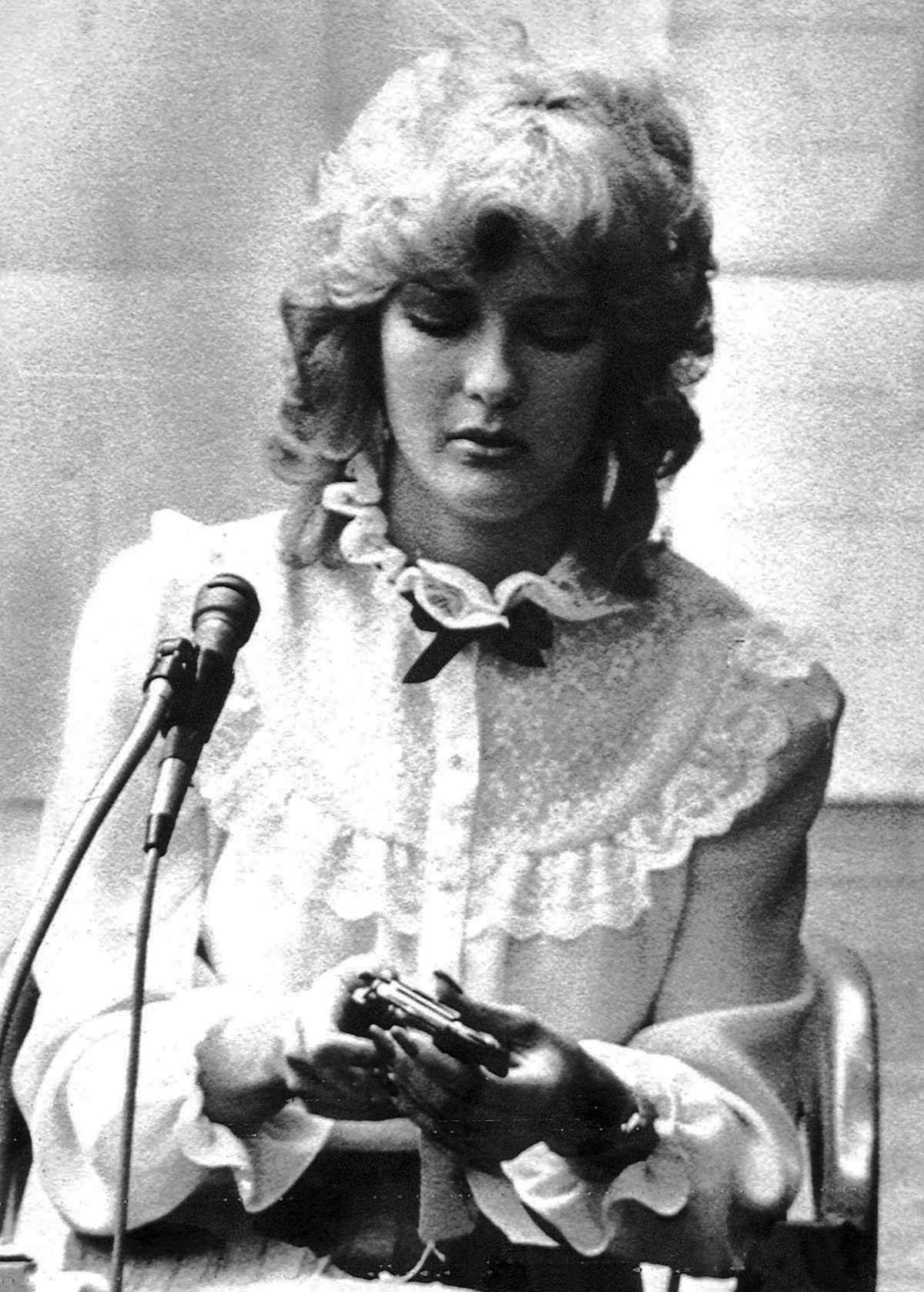 Bembenek testifies, 1982