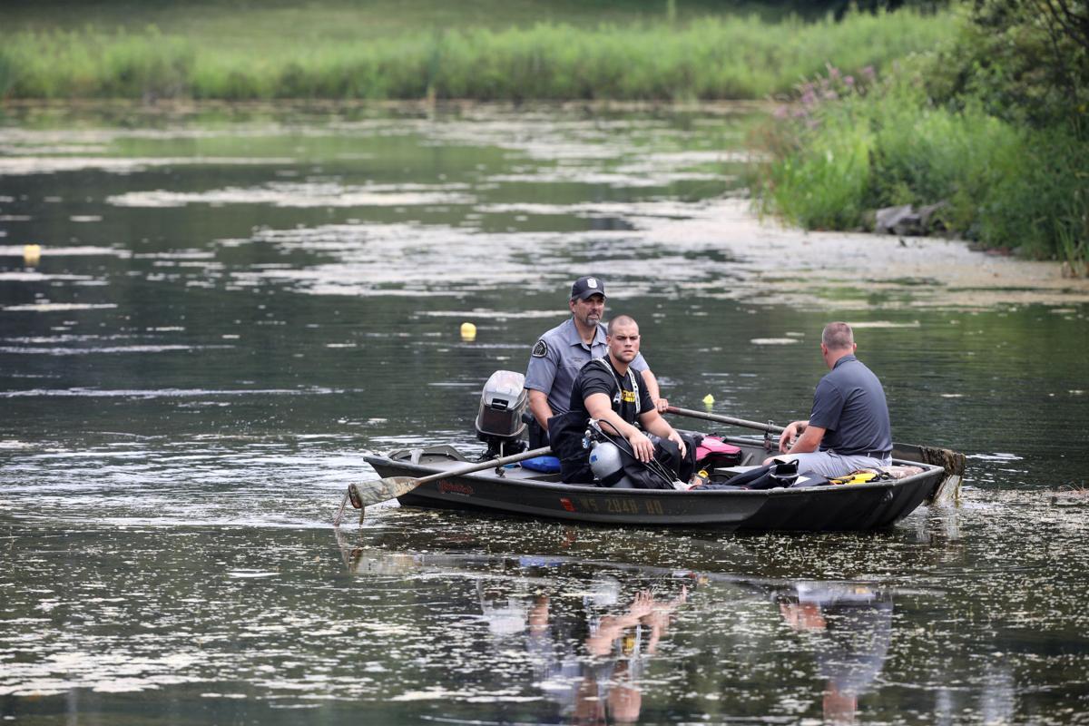 Halderson Pond Search