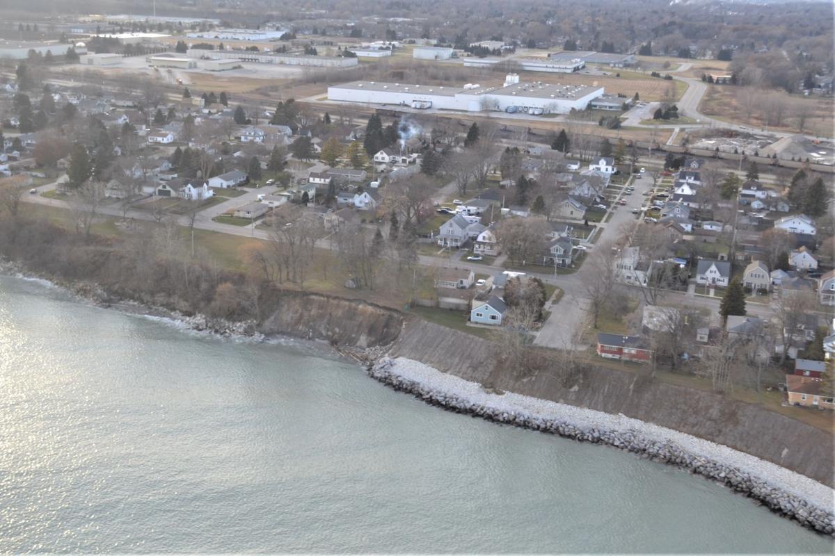 Lake Park erosion