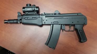 showing off fake ak 47 gun not a good idea officers tell teens on