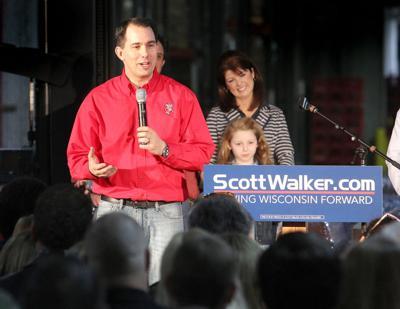 Scott Walker and Rebecca Kleefisch