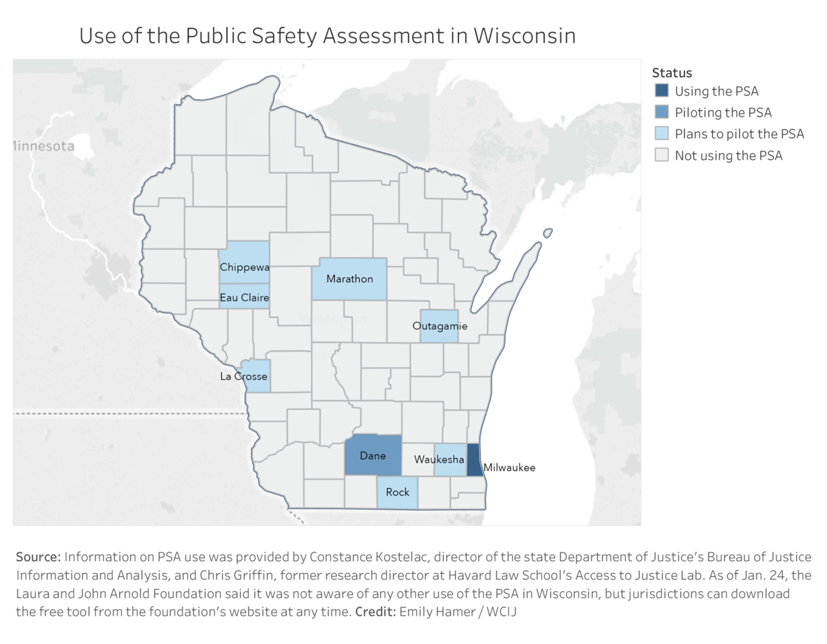 In Wisconsin, controversial algorithms help decide who stays