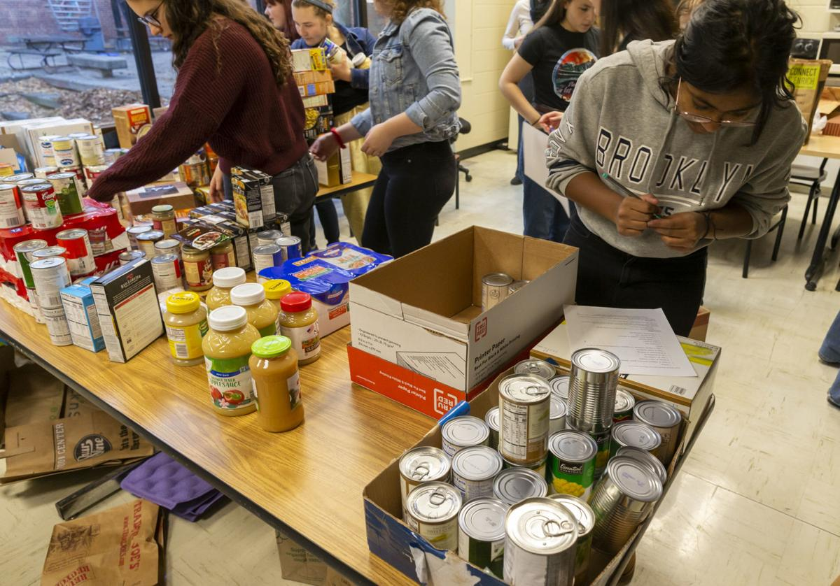 West High School food drive