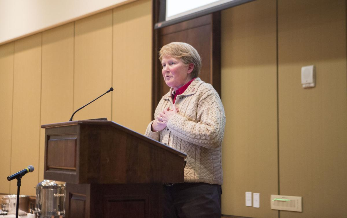 Lori Berquam, vice provost for student life and dean of students
