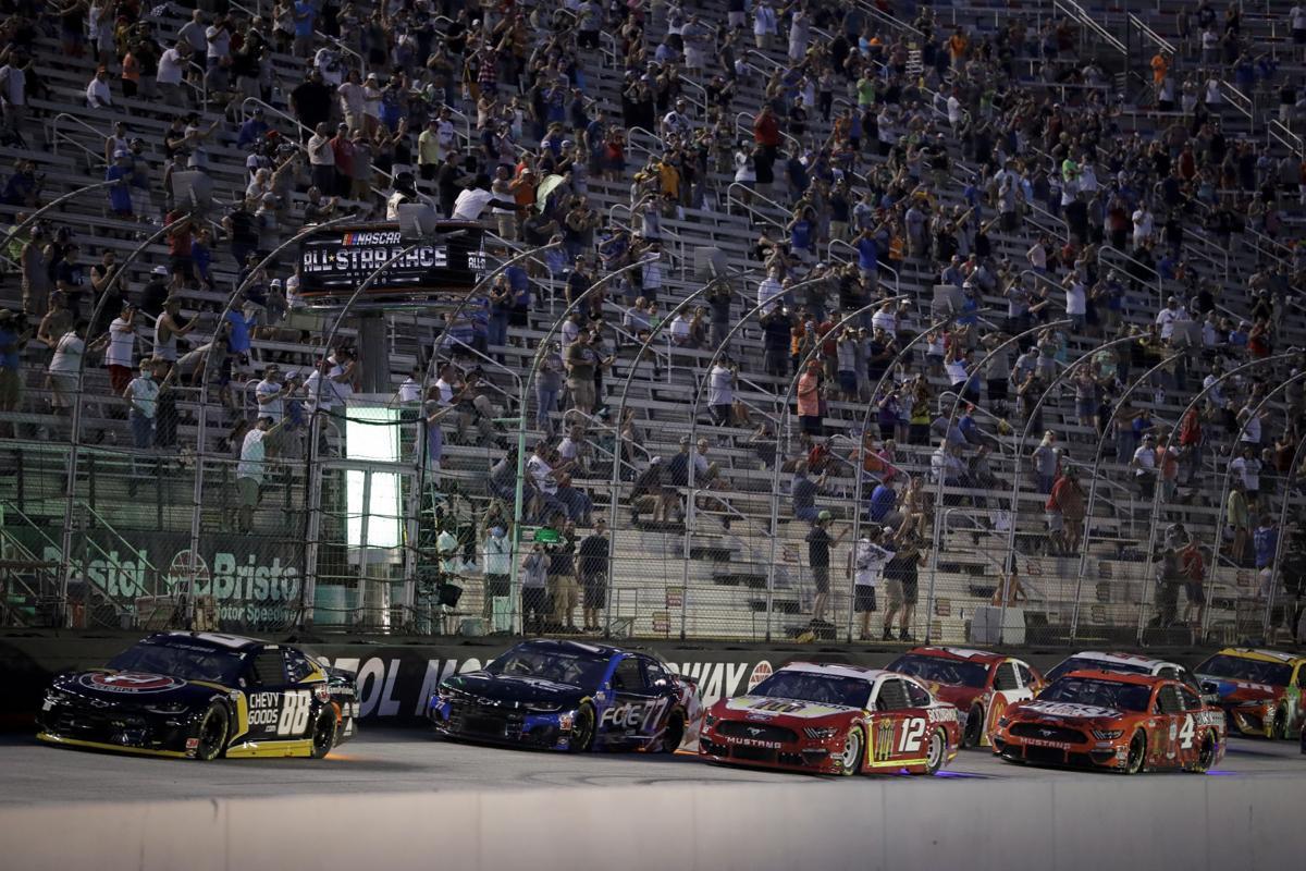 NASCAR secondary cover image
