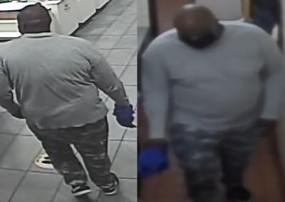 McDonald's robbery suspect