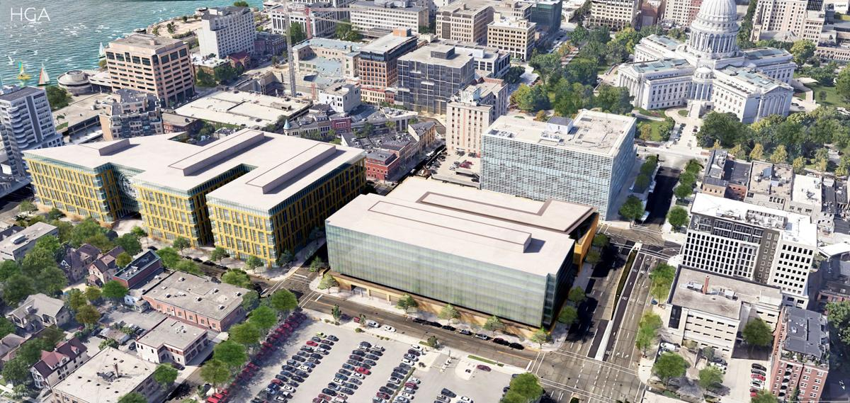 State redevelopment rendering
